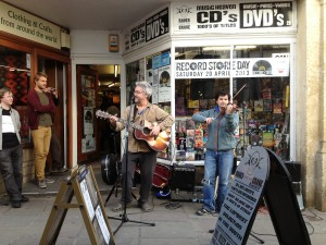 Live Music outside Raves from the Grave