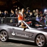 Jenson Button at Frome Extravaganza