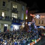 Frome Extravaganza Christmas Light Switch On