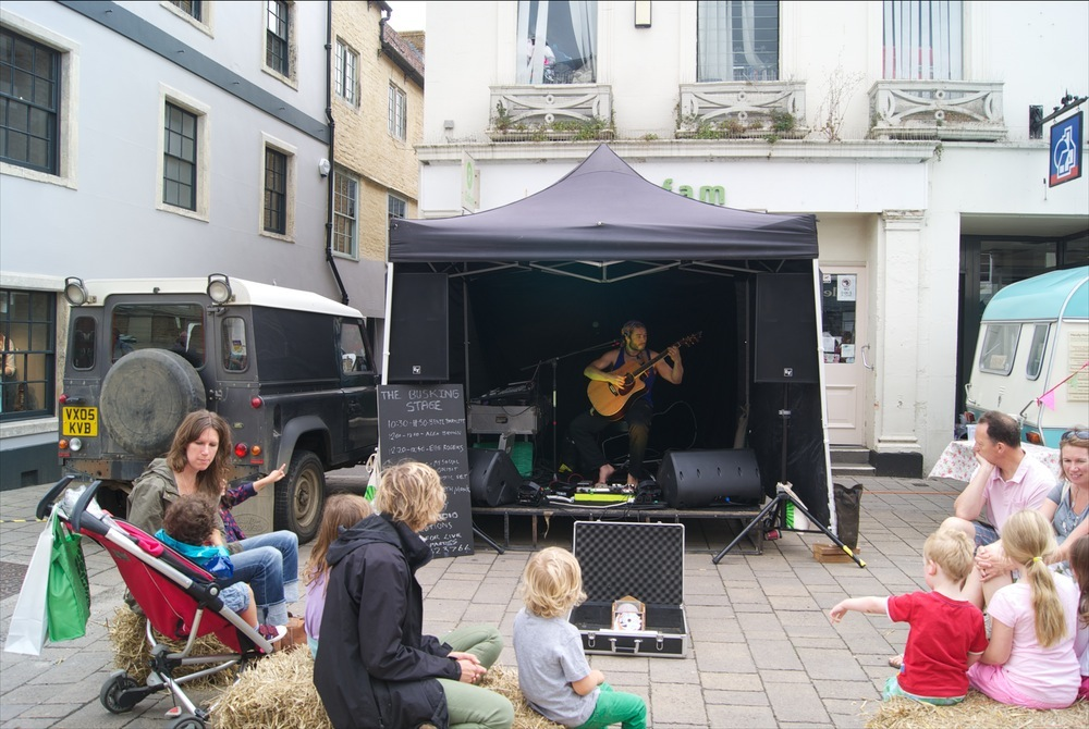 Busking Stage