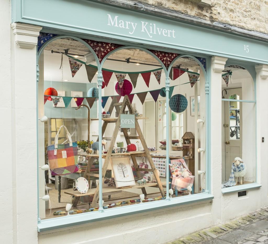 Mary Kilvert Shop Front