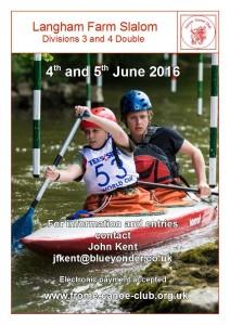 Langham Farm Slalom Poster 2 2016