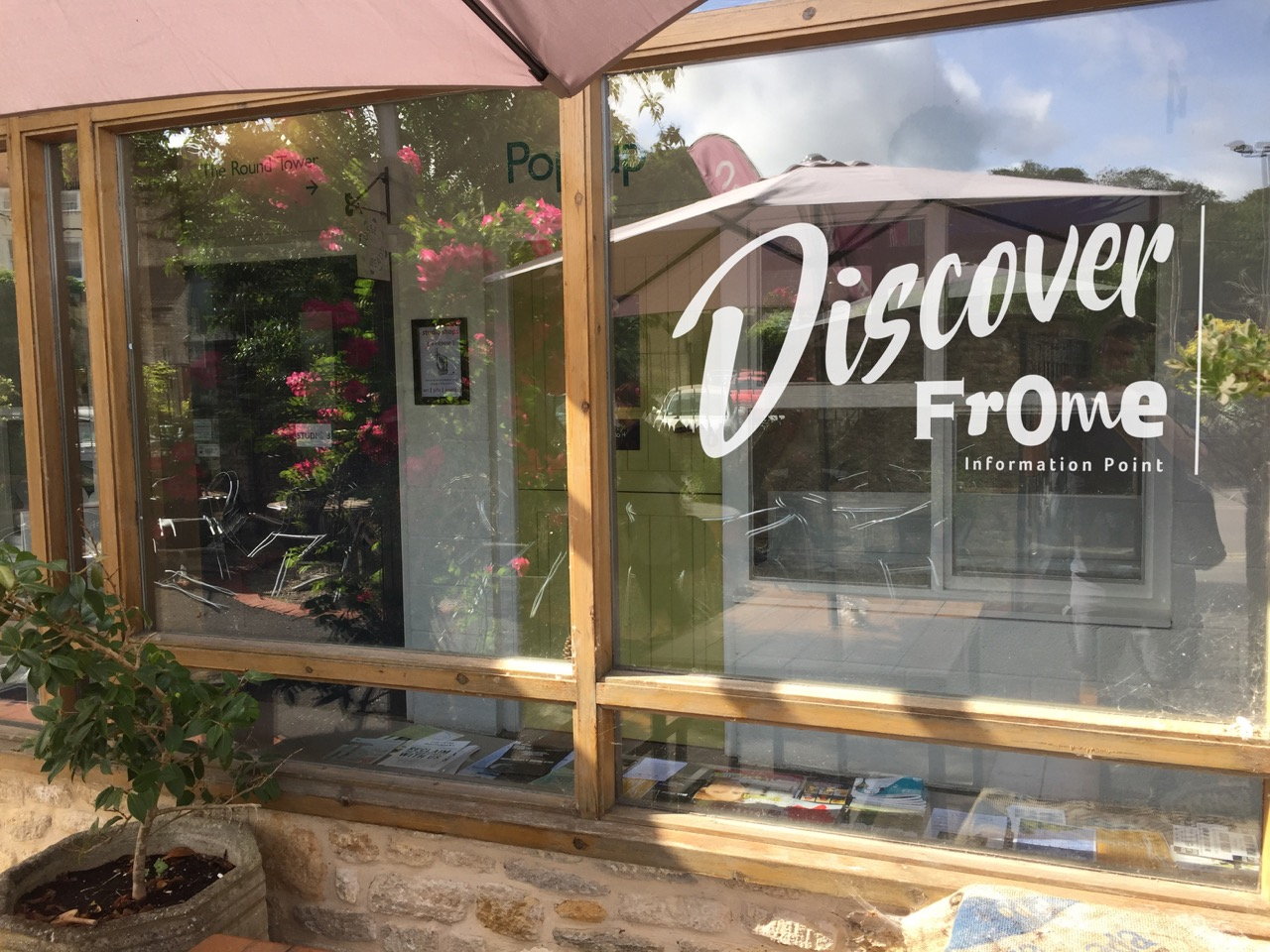 The Discover Frome Information Point provides local knowledge and tourist information for visitors and residents alike