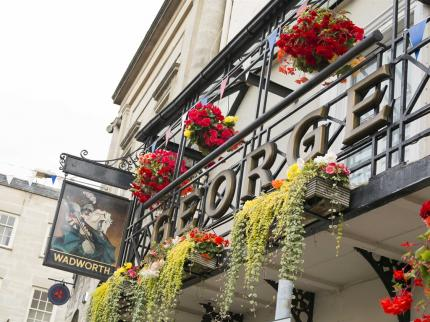 To plan your stay, be sure to look at accommodation in town, such as the historic George Hotel