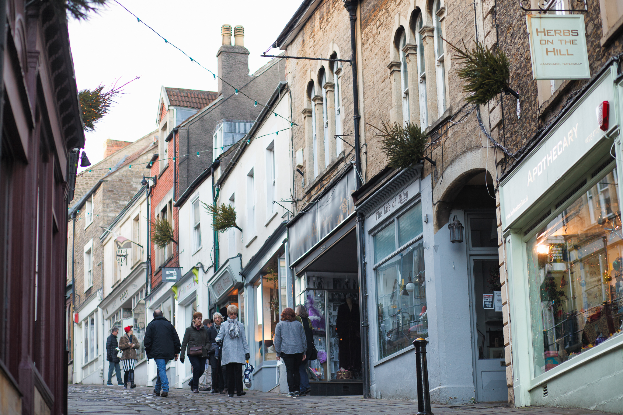 Catherine Hill is a great place for a walk, with beautiful cobbled streets and a diverse range of shops.