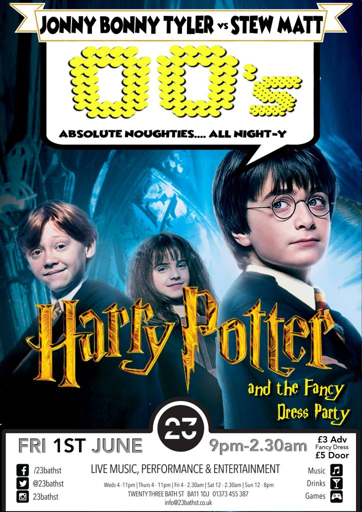 Absolute 00's: Harry Potter Party - Discover Frome