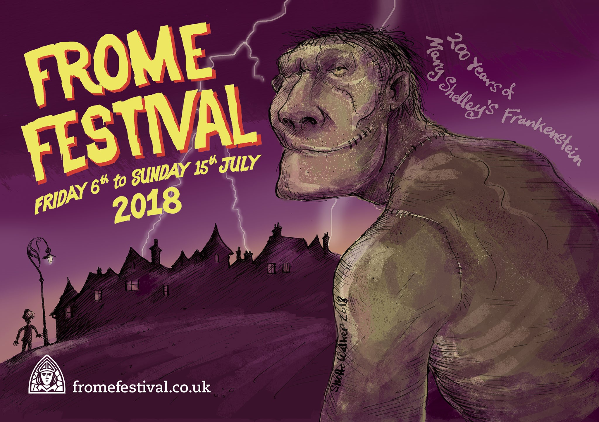 after a year of planning and to celebrate the 200th anniversary of mary shelleys frankenstein the frome festival will feature a monster line up