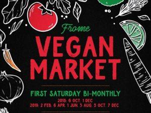 vegan market frome
