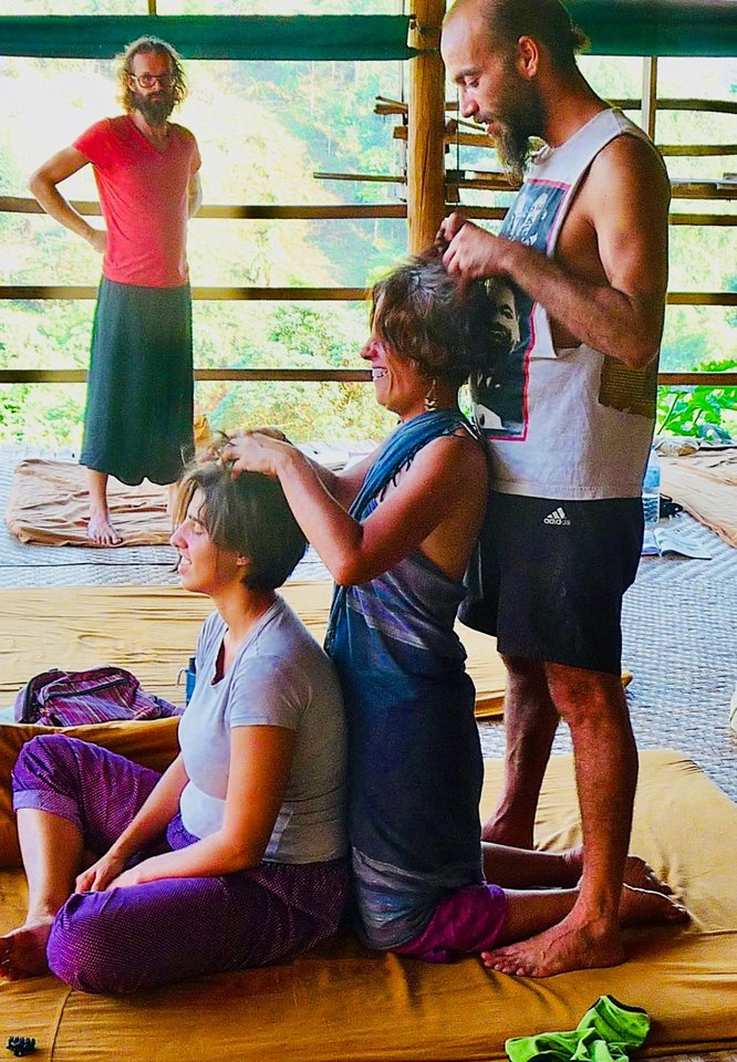 Thai Yoga Massage Community Class, a drop-in class for