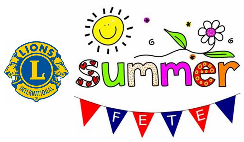 Frome Lions annual summer fete