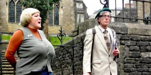 The Fecund Coming comedy walk