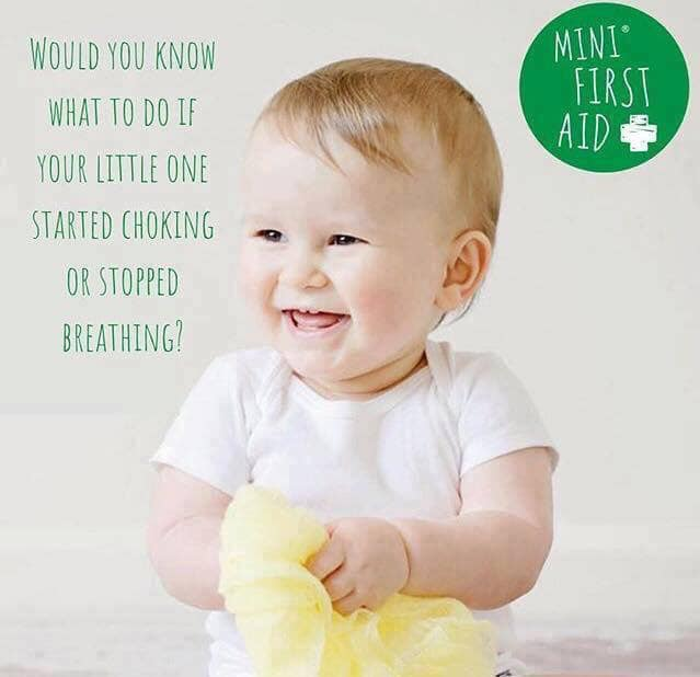 Baby and child first aid class Frome