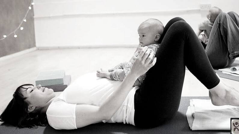 mum and baby yoga frome