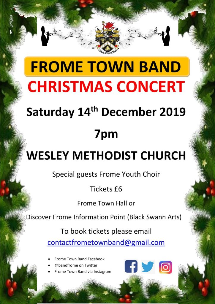 Frome Town Band Christmas concert