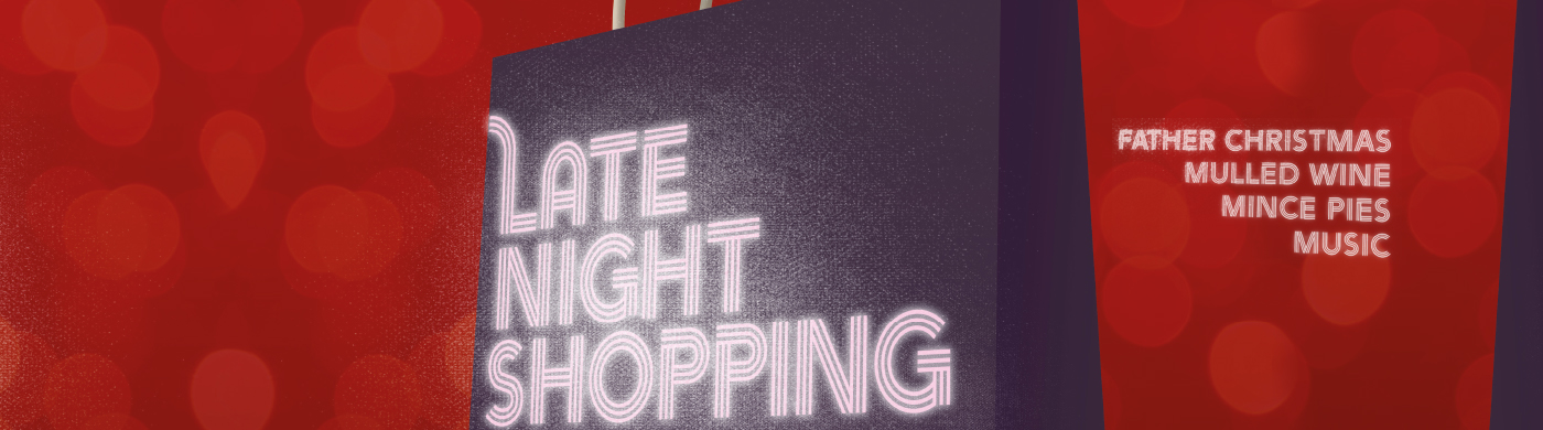 Late Night Shopping banner