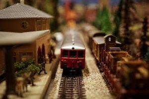 picture of model train