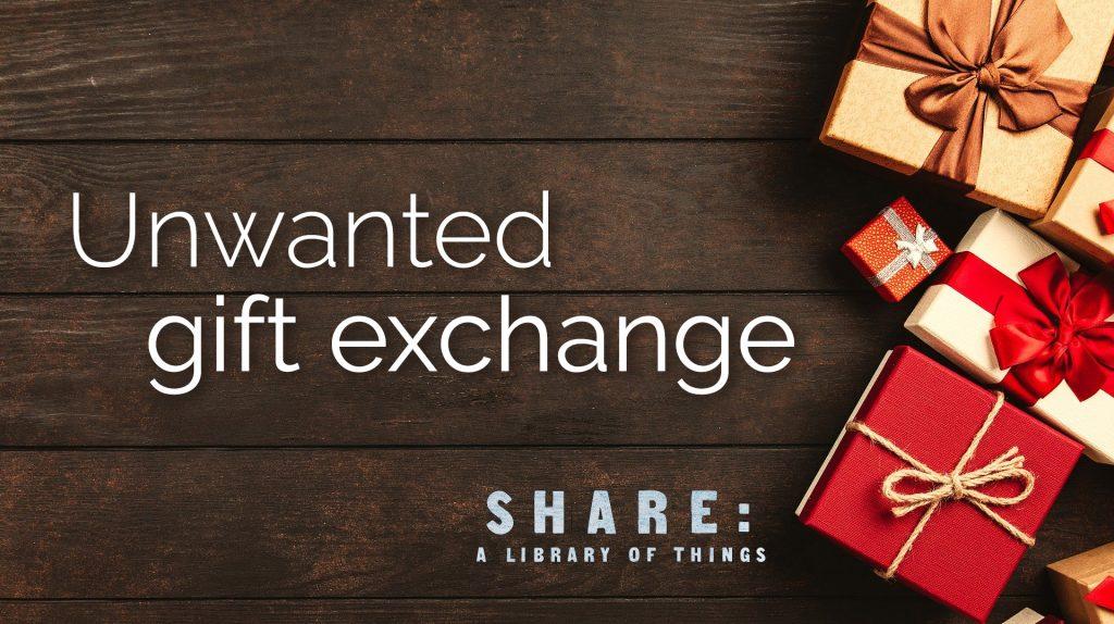 Unwanted Gift Exchange banner