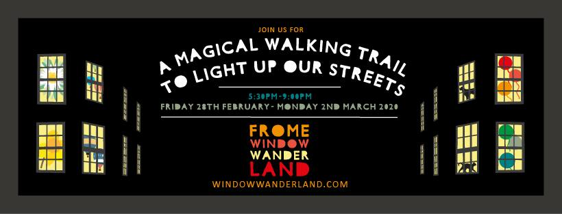 Frome Window Wanderland poster