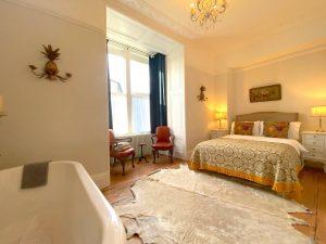 Bedroom at Luxury Georgian Apartment