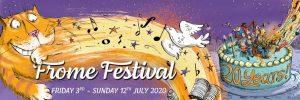 Frome Festival 2020 banner