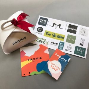 Fromie Gifts Gift card