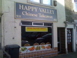 Happy valley shop front