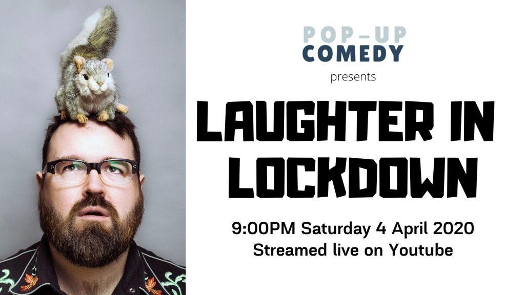 Laughter in lockdown poster