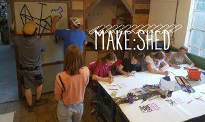 Make shed poster