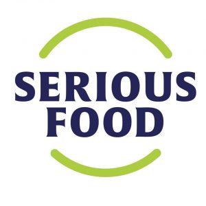 serious food logo