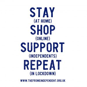 Stay at home, shop online, support independents, repeat in lockdown