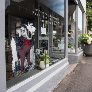 Baxter shop front