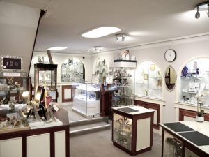 Charles Hart Jewellers shop interior