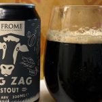 Glass of Frome Brewing Company stout