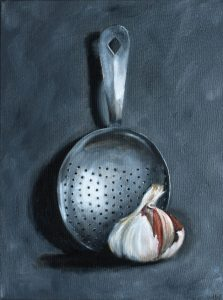 Painting: garlic