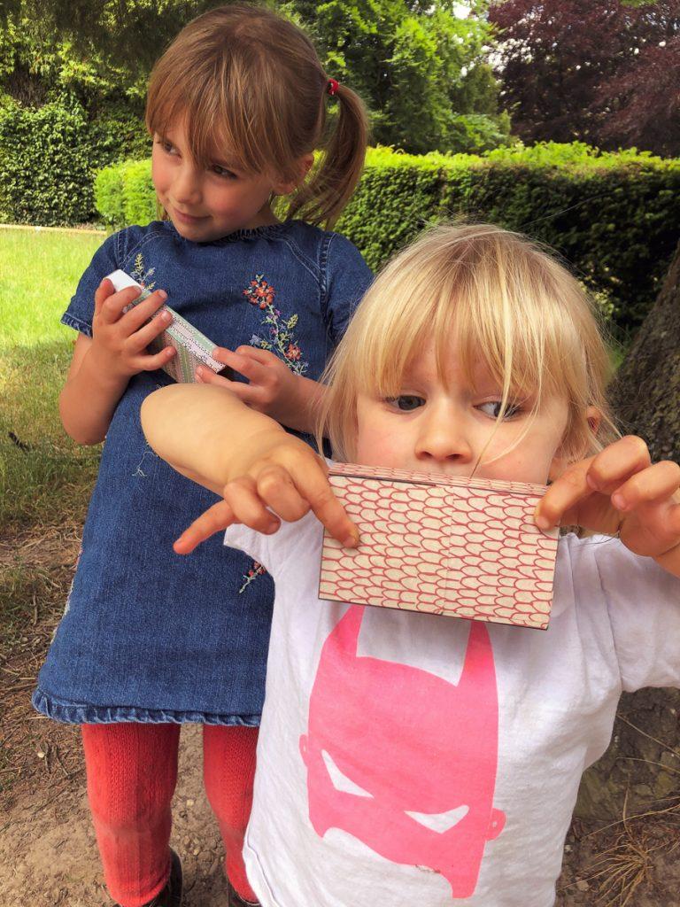 children playing nature pirates