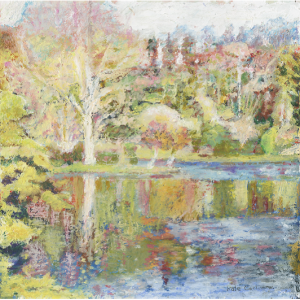 Painting: The Island at Stourhead