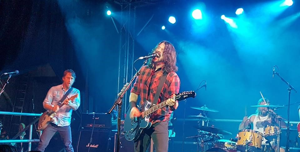 Foo Fighters perform at the Cheese and Grain, frome