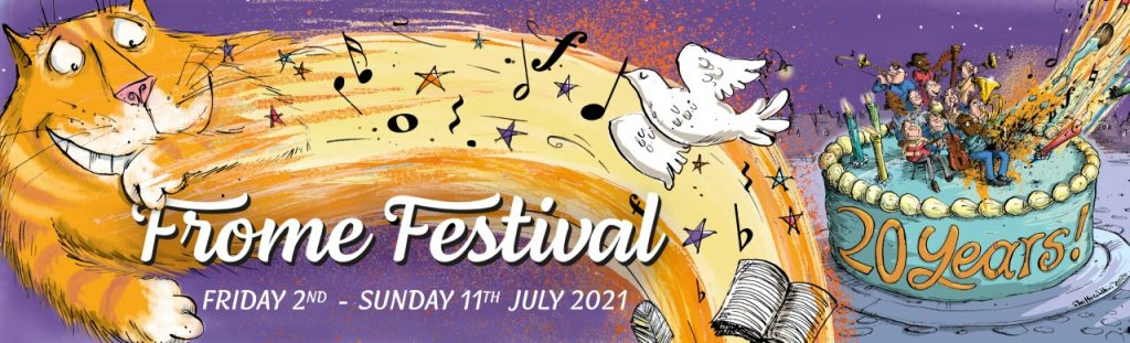 Frome Festival 2021 banner