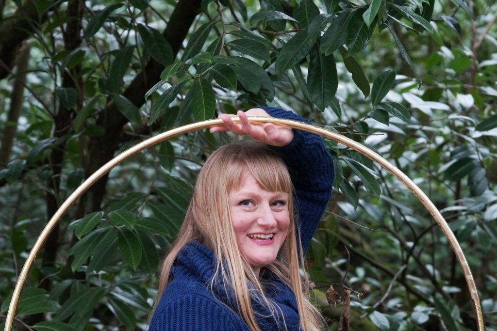 Women with hoola hoop