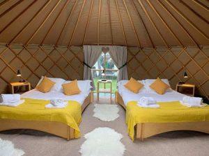 Nesta yurt interior