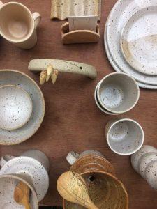 Ground pottery