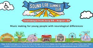 Sound Lab Summer Club poster
