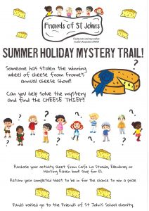 Summer Holiday Mystery Trail poster