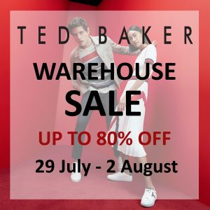 Ted Baker sale poster