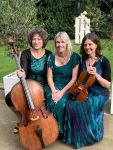 Three ladies in cello and violin