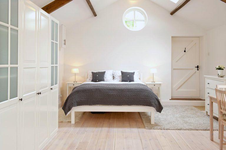 Upper Vobster Farm bedroom