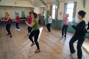 Evergreen dance class