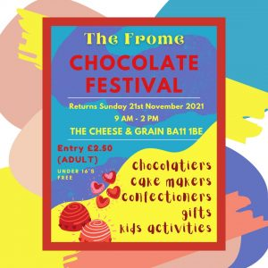 Frome Chocolate Festival poster