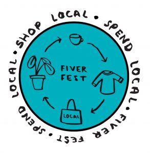 Fiver Fest 2021 logo