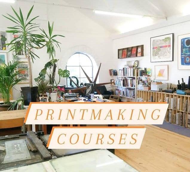 """Printmaking courses"""